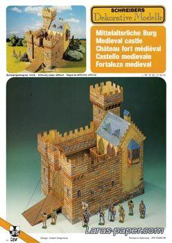 "Medieval Castle Schreiber-Bogen 72424 - 24 Августа 2011 - ""Модели из бумаги"""